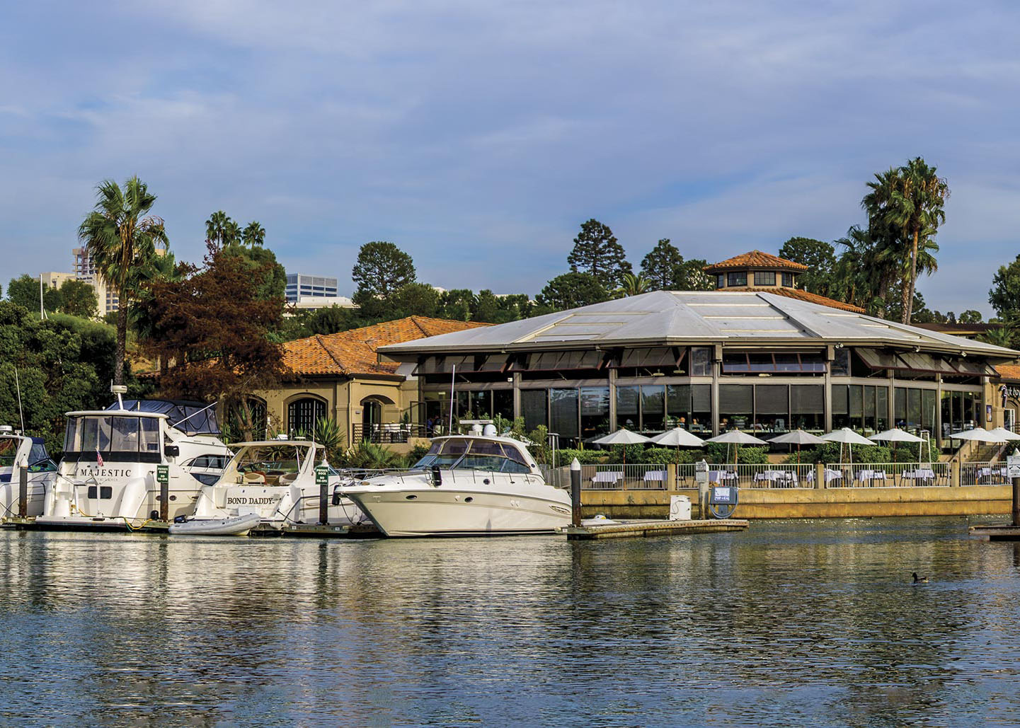 Newport Dunes Marina Amenities On Site Restaurant